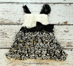 Black and White Damask Dress